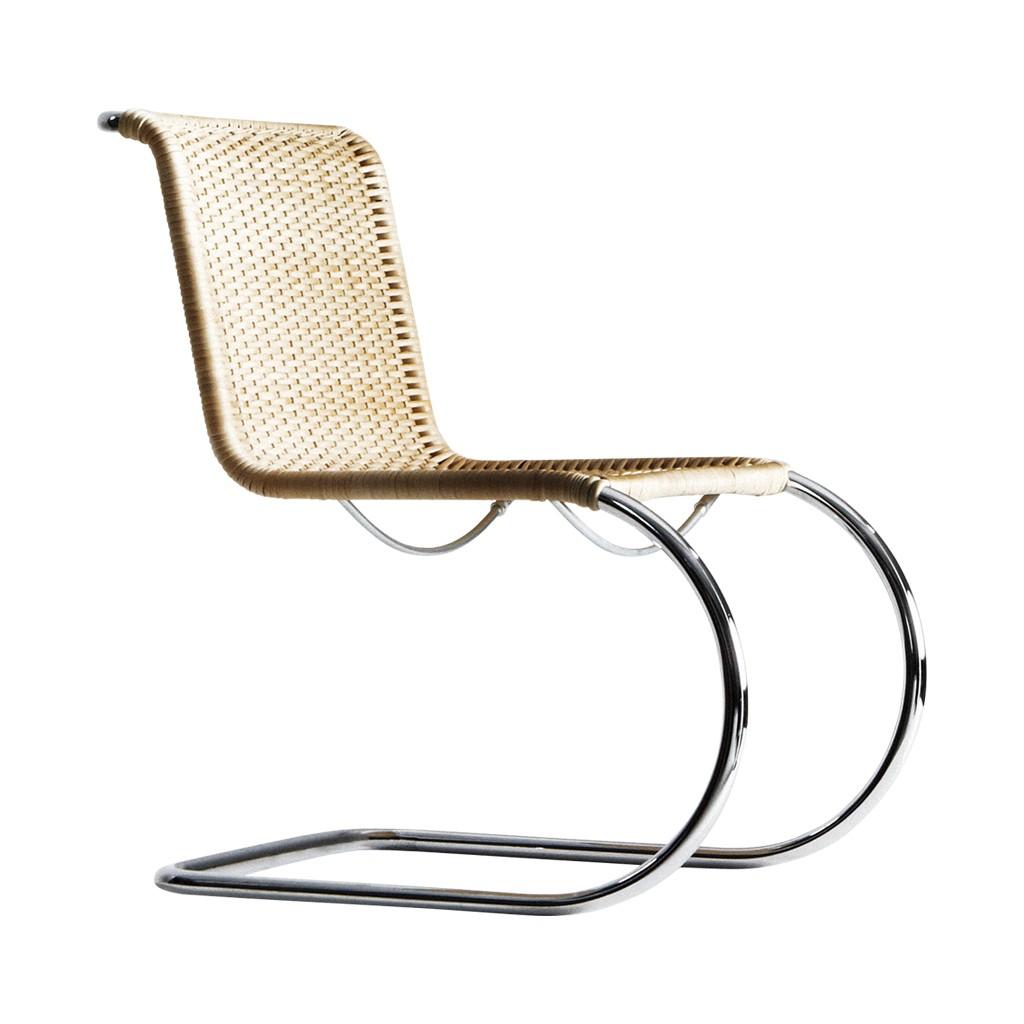 También en cantilever, diseño de Mies Van der Roe